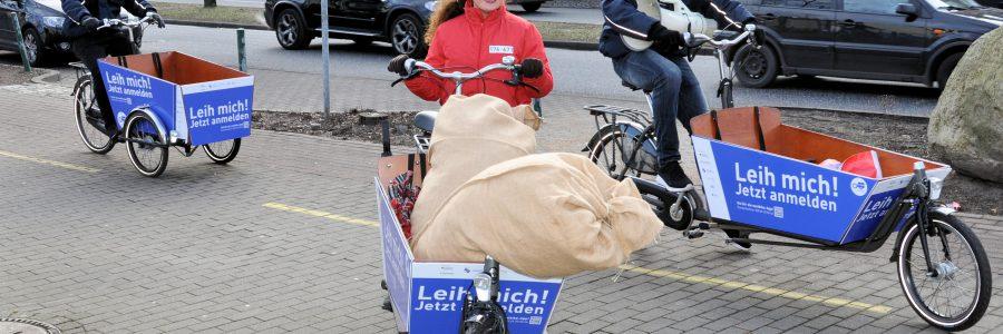 Wilde Verfolgungsjagd mit dem Transportrad sorgt für Aufregung in Norderstedt